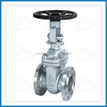 API Rising stem Gate Valve with Flange Ends for water chemical pipeline