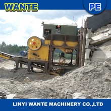 Good quality copper ore jaw crusher machine with good price