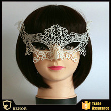 Finalize the design the queen Halloween mask hollow-out the veil appeal sexy lace fox masked balls nightclubs patch