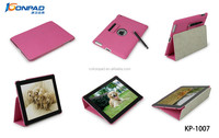 Newest For iPad Case, PU Leather Stand Case For iPad