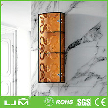 Delivery on time sliding style mdf finish bedroom wardrobe designs with sliding door