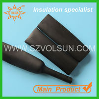 Ozone Aging Resistant UV Resistant EPDM Rubber Heat Shrink Tube/ Tubing