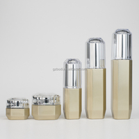 suit glass cosmetic package cream jar and lotion bottle 100ml,120ml