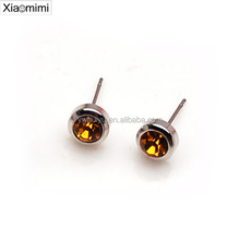 Fashion exquisite diamond earrings earrings jewelry crystal rhinestone boot jewelry