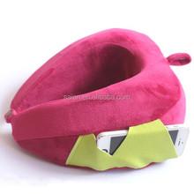Memory foam cute design cheap wholesale neck pillows
