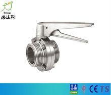 2013 buen mercado de la oblea de la válvula de mariposa con actuador neumático