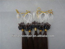 Grade 6A micro ring hair extension for Australian Market, remy micro ring hair