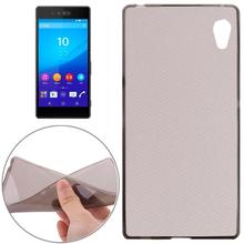 Transparent Design Soft TPU Cover for Sony Xperia Z4