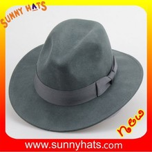 Stylish men wool felt hats from Dongguan hats factory