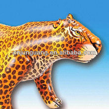 2015 hot sale realistic inflatable Leopard model for advertising