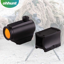 The hunting Accessories T1-A 1x22mm tactical red dot sight With Low and High Mount