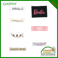 Garment woven label/Kinds of clothing label