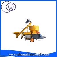 Hot sale! Easy operation HL70-L cement sand plaster machine /wall spray plastering machine