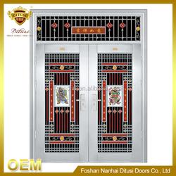 China wholesale custom fashion american steel doors JH203