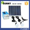 Environmentally friendly foldable solar panel kit 20w