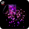 Electronic Home& Weeding Decoration Copper White Snowflake Led String Lights