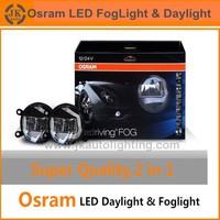 Factory Direct Wholesale Osram LED Fog Light Excellent Quality Super Bright Osram LED DRL Fog Light Universal Osram LED Daylight