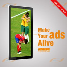 55 inch indoor wall mount lcd monitor for advertising