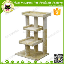 medium beige color cat tree toys with 3 perch unique design cat tree perch