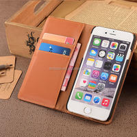 Latest Design Top Sell PU Leather Case For Samsung Galaxy S6 Phone Case With Tweed Fabric & PU For Samsung s6 Mobile Wallet Case