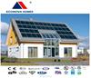 Econova new steel prefabricated houses with solar system