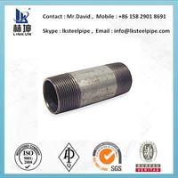 BS 1387 Class c 8 inch schedule 40 hot dip galvanized steel pipe