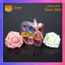 Competitive Price Clear Waterproof Cube Box And Packaging For Flowers