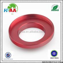 2015 New OEM factory Aluminum UV Lens Filter Ring Adapter housing special custom service provided