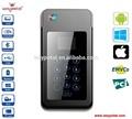 bluetooth del teléfono móvil pos con banda magnética y lector de tarjetas inteligentes