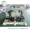 Freezer compressor unit for freezer storage