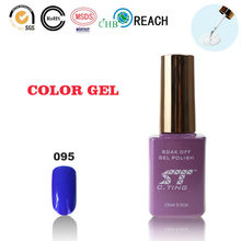 Purple Blue Glitter Nail Polish for Beauty and Health