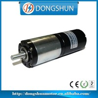 DS-42RPBL4260 42mm diameter high torque low rpm dc brushless gear motor