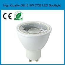 led spotlight cob 4w 5w 6w gu10 warm/pure/cool white