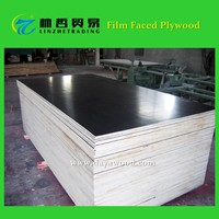(B4) 12mm 15mm 18mm Marine Film Faced Plywood Panels For Dubai Wholesale Construction Building Materials Market