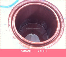 Boat bottom acrylic discolor antifouling pimer, boat waterline below primer
