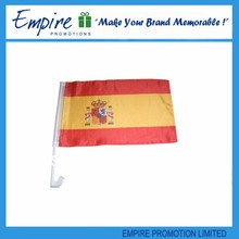 Promotion gifts popular chrome car flag badges