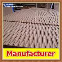 New design decor 3d MDF wave board
