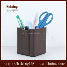 Natural wood fashionable wooden pen container,lovely wooden pencil box# HX-1009