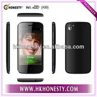 Newest 3.97inch Android Dual Core MT6572W Low Price Smart Phone