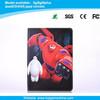 BigHero cartoon character pu leathe case for iPad 2/3/4