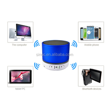 J factory fashion wireless bluetooth speaker with led light
