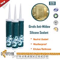 Clear Anti Mould Weatherproof Antifugus Silicone Sealant