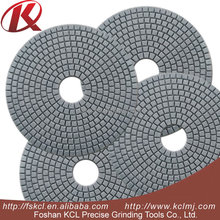 Foshan KCL 3inch Thin Diamond Concrete Polishing Velcro Resin Pads