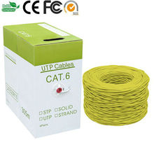 1000ft Computer Ethernet Connection 8 Solid copper 4 Twisted Pair 23AWG UTP Cat 6 lan Cable