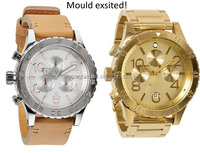 High quality fancy all stainless steel european couple factoery watch