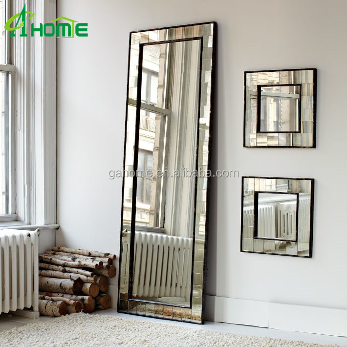 Antique home decor full length of floor mirror buy for Decorative floor length mirrors