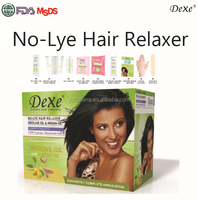 Dexe hair treatment hair relaxer cream