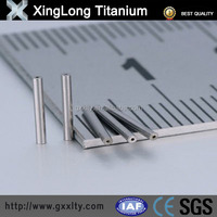 2015 high quality titanium capillary tube