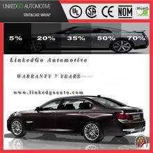 Superior quality security automobile 35%VLT 2ply smoke black solar window tint film tinted car windows