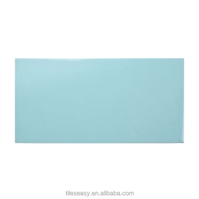 006285 Cheap Swimming Pool Blue Ceramic Tile From Factory Of Tiles In